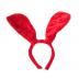 Raudonos spalvos zuikio ausys