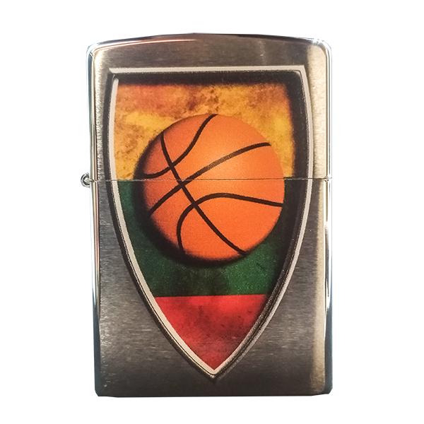 """Zippo žiebtuvėlis """"Lietuva - krepšinio šalis"""""""