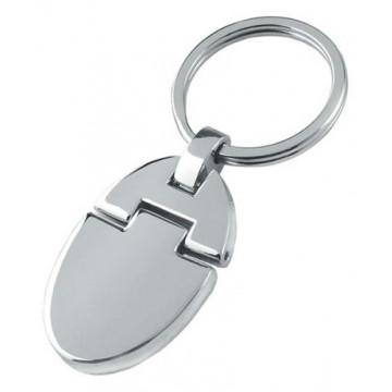Lankstomas metalinis raktų pakabukas
