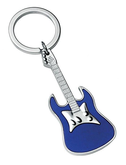 """Raktų pakabukas """"Mėlyna gitara"""""""