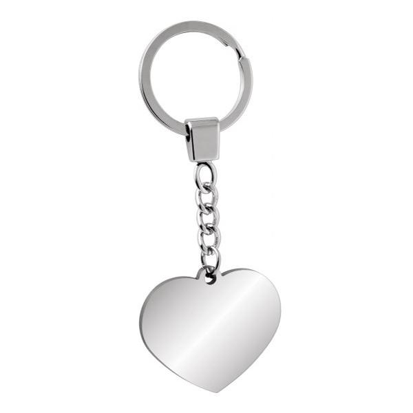 """Nerūdijančio plieno raktų pakabukas """"Didelė širdelė"""""""