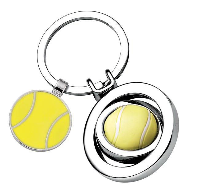 """Raktų pakabukas """"Teniso kamuoliukas"""""""