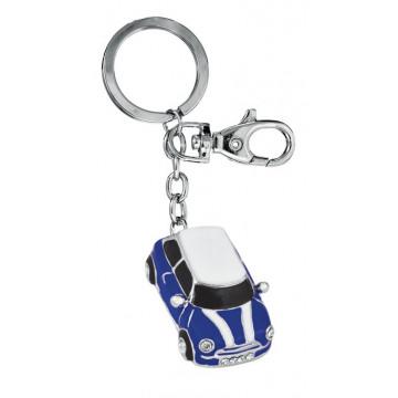 """Raktų pakabukas """"Mini Cooper"""", mėlynas"""