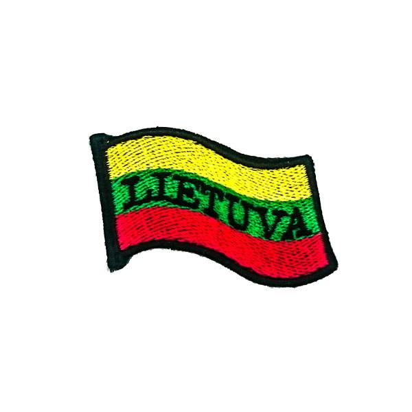 Antsiuvas trispalvė Lietuva