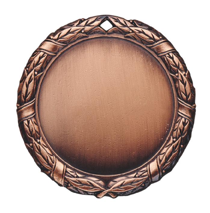 Bronzos spalvos jubiliejinis medalis