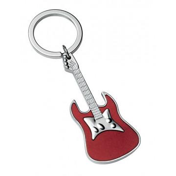 """Raktų pakabukas """"Raudona gitara"""""""