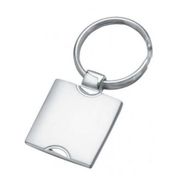Metalinis blizgus raktų pakabukas. Komplektuojamas su kartonine dėžute.
