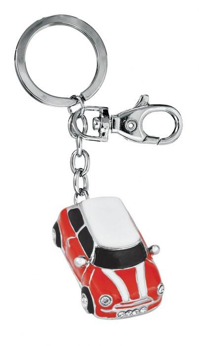 """Raktų pakabukas """"Mini Cooper"""", raudonas"""