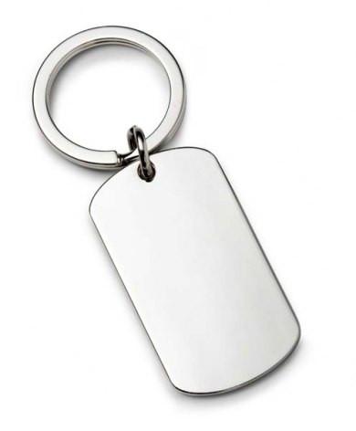 ID formos raktų pakabukas be grandinėlės