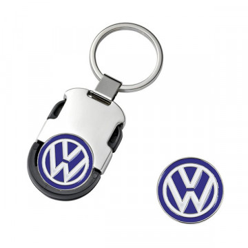 Raktų pakabukas Volkswagen su žetonu