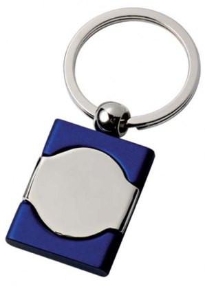 Originalus mėlynas raktų pakabukas