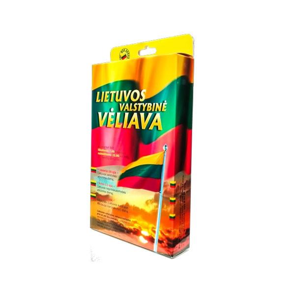 Lietuvos vėliava dėžutėje