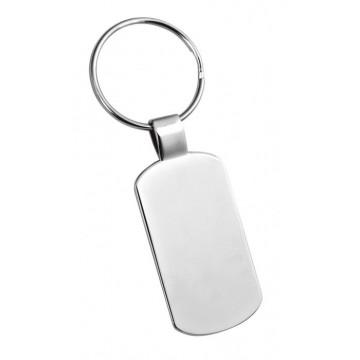 Vienisas ID formos raktų pakabukas