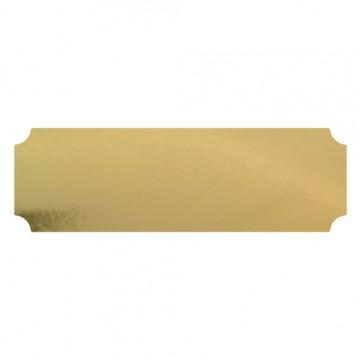 Auksinės spalvos metalinė lentelė